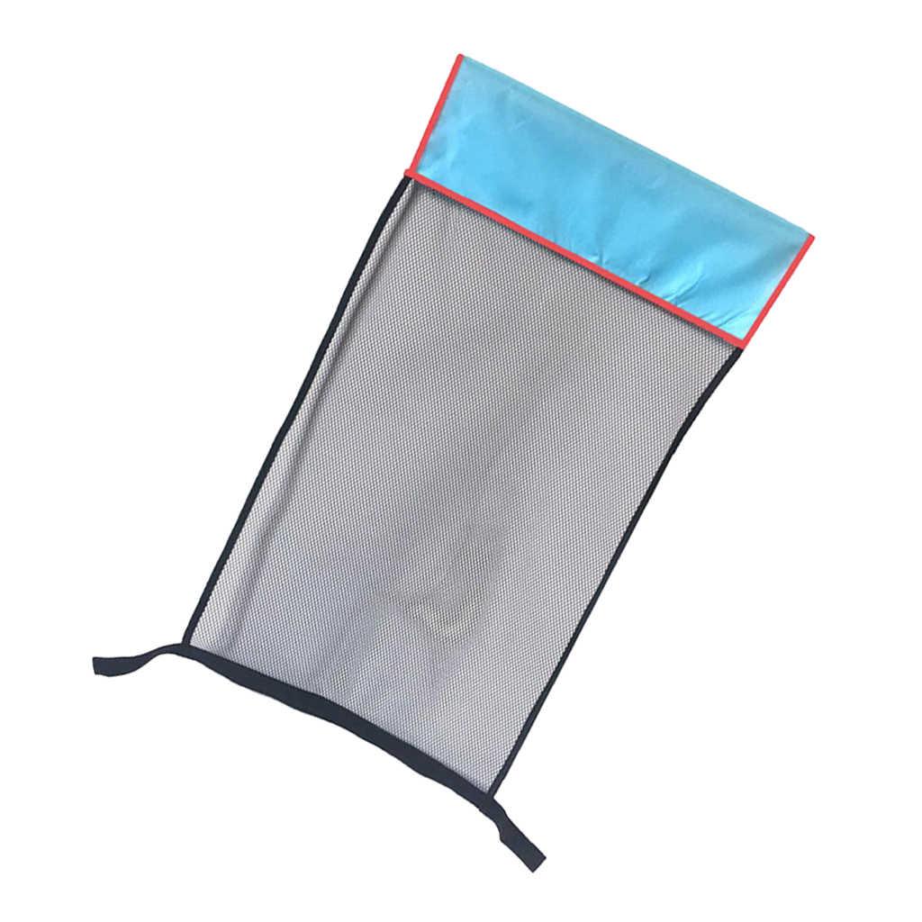 Silla de piscina flotante 2,5 pulgadas Dia fideo Sling natación malla red asiento flotador de agua