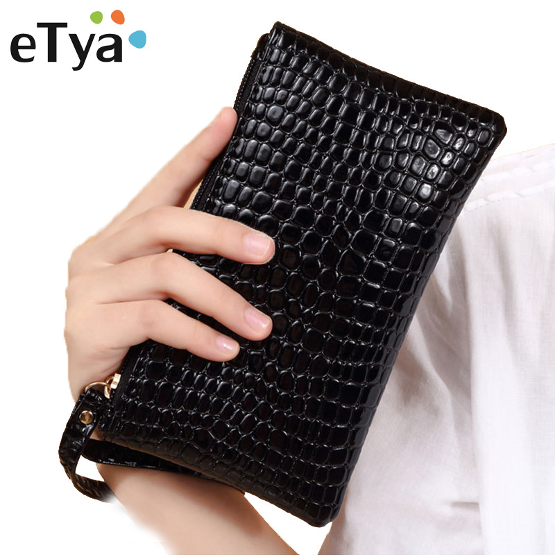 ETya Women Cosmetic Bag Travel Neceser Makeup Bag Fashion Ladies Make Up Pouch Toiletry Organizer Case Clutch Purse Tote