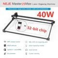 Профессиональный лазерный гравировальный станок NEJE Master 2s Max 30 Вт 40 Вт 460x810 мм, лазерный резак Lightburn, Bluetooth, управление через приложение
