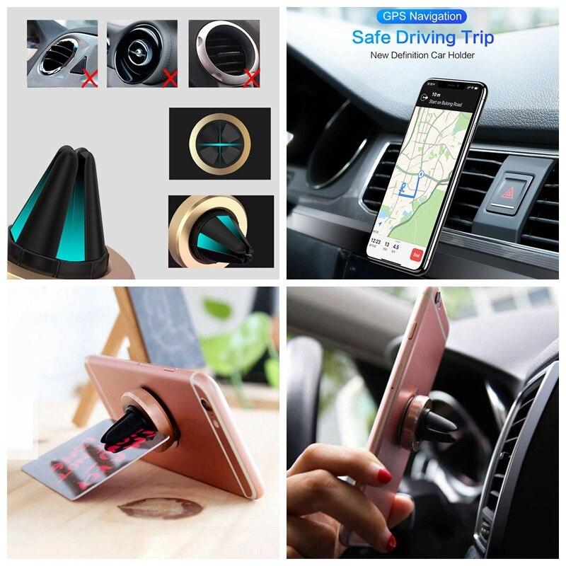 Универсальный автомобильный держатель для телефона на магните