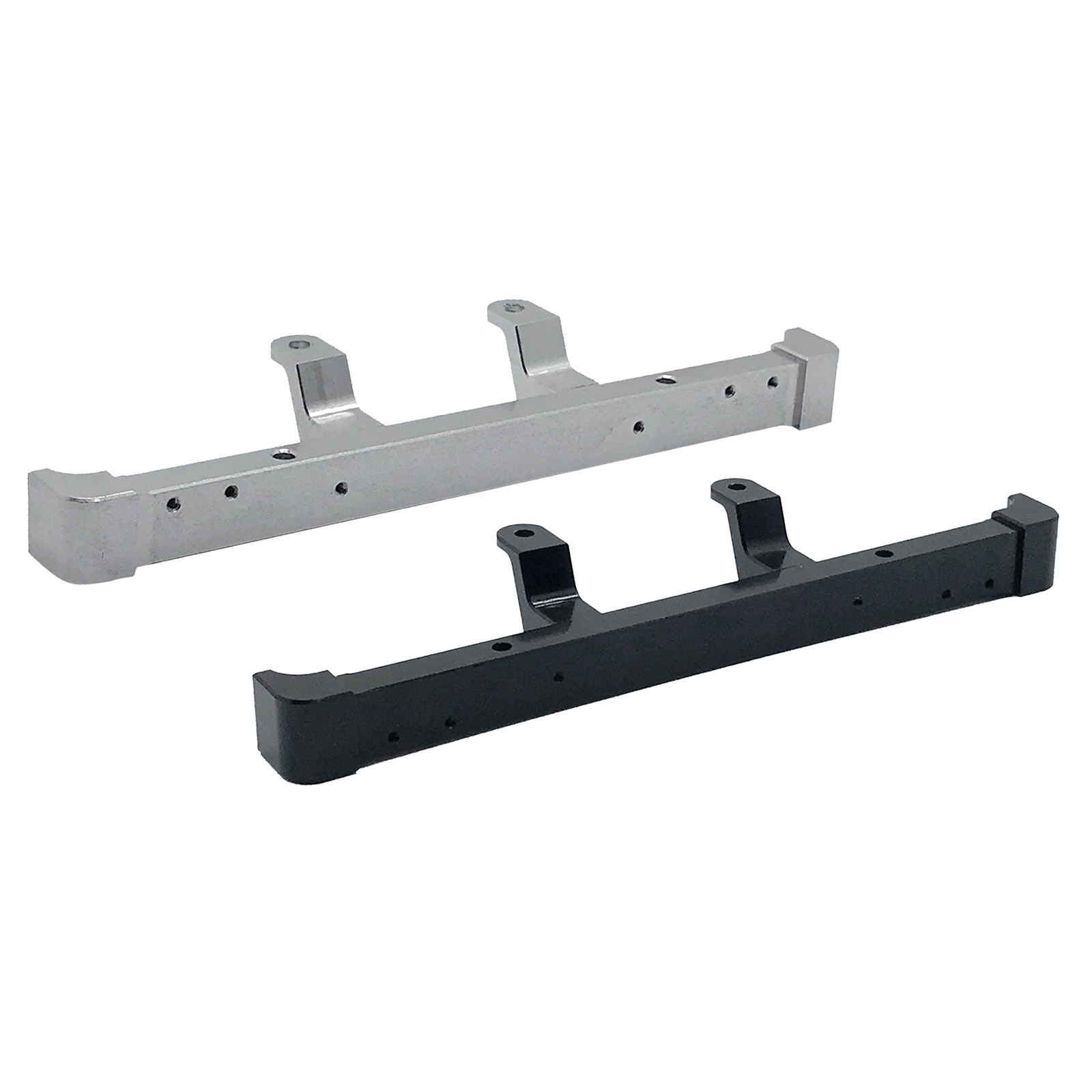 Andifany Door-Shaped Metal Front Bumper with Trailer Hook for MN D90 D91 D99S 1//12 RC Car Upgrade Parts Accessories,Titanium
