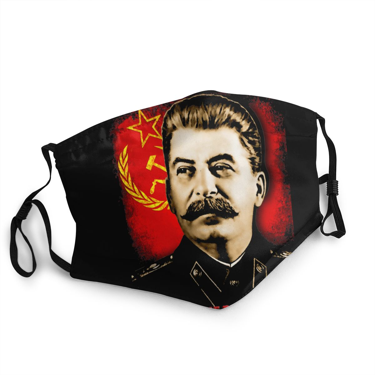 Allied Nations Stalin Reusable Face Mask USSR Communist Russia Anti Haze Dust Mask Protection Cover Respirator Muffle