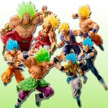 Tronzo Original D B Super Saiyan Grand War Broly Gogeta Gohan PVC Action Figure Model Toys Gifts