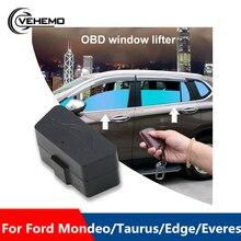 Профессиональный автомобильный оконный доводчик двери пульт дистанционного управления автомобиля стекло OBD автоматическая система без ошибок закрывания модуля для Ford Mondeo