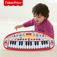 Детская электронная клавиатура fisher price для пианино игрушка