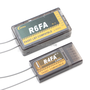 Image 2 - Corona R4FA R6FA F8FA R14FA 2.4Ghz FUTABA T8FG 12FG 14SG 16SZ 18MZ Fasst Compatible Receiver  For RC Fixed wing aircraft