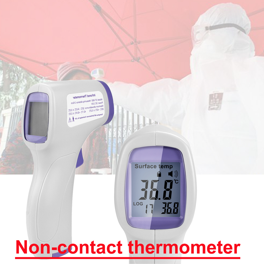 Digital Thermometer Infrared Forehead Body Thermometer Gun Non-contact Forehead Gun Measurement Device For Baby/Adult