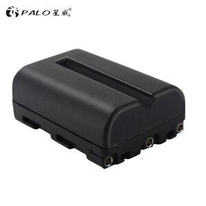 Image 4 - PALO 2000 mAh NP FM500H NP FM500H NPFM500H charger For Sony Camera battery A57 A58 A65 A77 A99 A550 A560 A580 battery l10