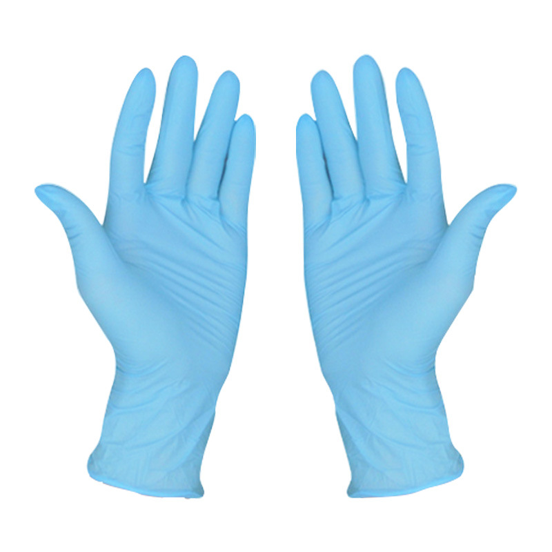 100pcs Disposable Nitrile Protective Gloves Waterproof Work Safety Mechanic Gloves For Household Workplace Laboratory Use