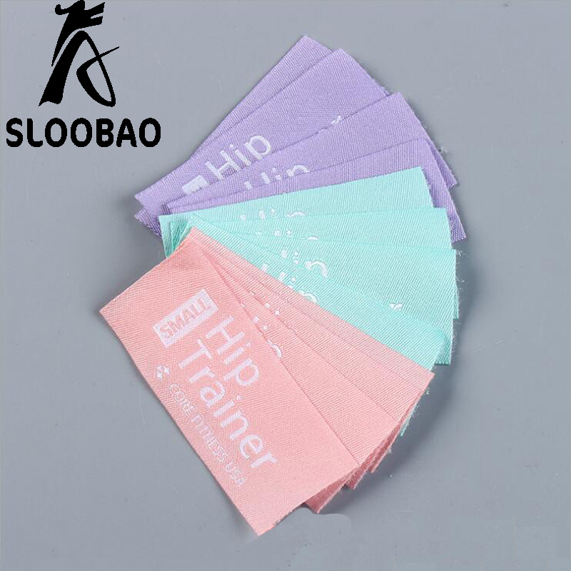 Customized printed brand name/logo Woven Labels main labels washable for Clothing/Garment clothes/shoes/bags tags accessory-in Garment Labels from Home & Garden    1