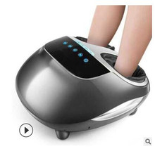 Heating Air Pressure Foot Massager Multifunction electric shiatsu foot massage instrument kneading feet gua sha relax led electric display dual foot massager shiatsu kneading heat and remote control