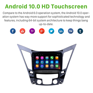 Image 3 - Seicane  All in One Android 10.0 Car Multimedia Player GPS Navigation system For 2011 2012 2013 20142015 HYUNDAI Sonata i40 i45
