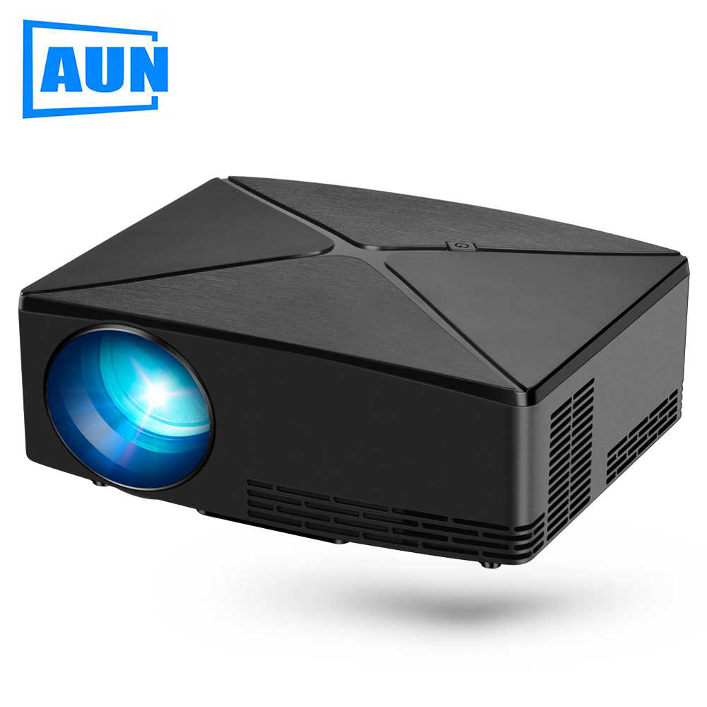 AUN MINI Projector C80UP review