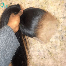 30 Inch HD Lace Front Human Hair Wigs Remy Bone Straight 13x6 HD Lace Front Wig 180% Hd Transparent Lace Closure Wig For Women
