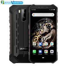 "Global Version Ulefone ARMOR X5 โทรศัพท์มือถือกล้องด้านหลังคู่ IP68 Android 9.0 5.5 ""HD + OCTA Core 3GB + 32GB สมาร์ทโฟน Dual SIM"