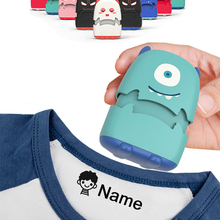 Toy Seal Name-Stamp Gift Monsters DIY Security Baby Custom-Made Not Children Student