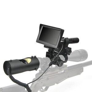 Image 5 - 850nm infravermelho led visão noturna ir riflescope caça escopos óptica visão caça câmera vida selvagem visão noturna