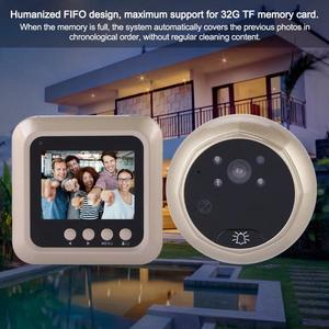 Image 2 - 2.4inches 1080P Intelligent Electric Door Bell Wireless Digital Peephole Security Door Viewer Doorbell Camera