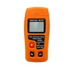0-99.9% Ручной цифровой измеритель влажности древесины тестер влажности для бумаги дров