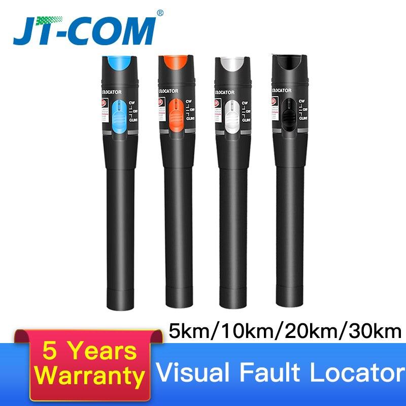 30mw FTTH Fiber Optic Tester Pen Tipo fiberLight óptico A Laser Vermelho Localizador Visual de Falhas Óptica Cable Tester 10- 30Km Gama