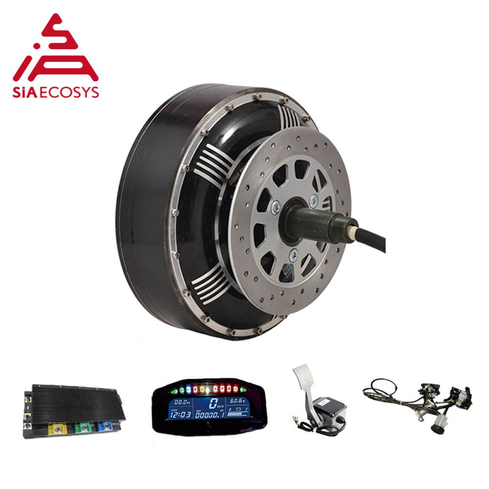 <font><b>QS</b></font> <font><b>Motor</b></font> 8000W <font><b>273</b></font> 96V 120kph 2wd BLDC brushless electric car hub <font><b>motor</b></font> conversion kits with APT96600 <font><b>motor</b></font> controller image