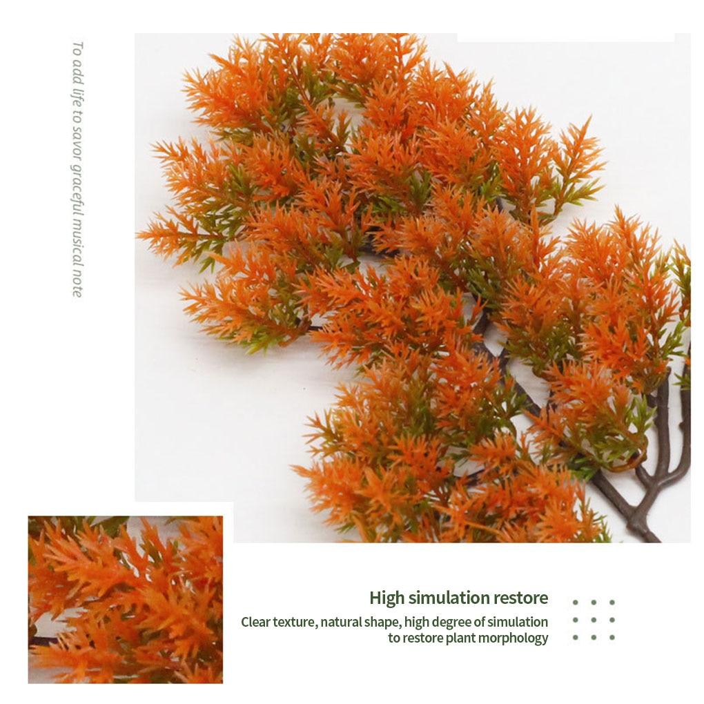 Искусственные сосновые ветки имитация иголки листья ветка для домашнего офиса искусственный растительный Декор|Искусственные растения|   | АлиЭкспресс