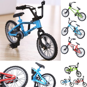 1 unids Finger bmx bicicleta juguetes para niños Mini bicicleta con cuerda de freno aleación bmx funcional bicicleta de montaña modelo juguetes para niños regalo