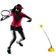 Портативный Теннисный тренажер соло практика отскок мяча средство