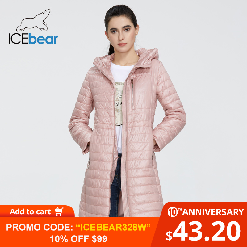 ICEbear 2020 New Women Spring Jacket High Quality Female Coat Ladies Jacket With Hood Fashion Clothes GWC20702I