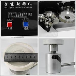 Image 4 - XEOLEO máquina selladora de latas de 55mm, selladora de botellas de bebida para 330ml/500/650ml, sellador de latas de té de la leche PET/Café, 220V/110V