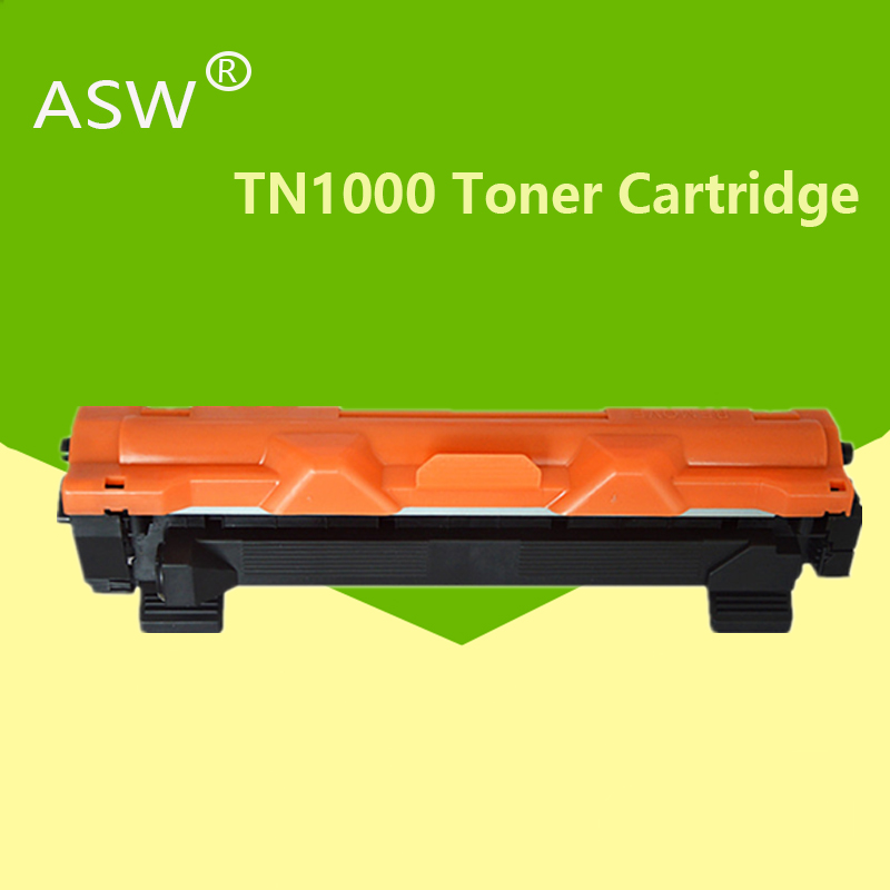 ASW 1pcs TN1000 <font><b>toner</b></font> cartridge compatible for <font><b>Brother</b></font> TN1030 TN1050 TN1060 TN1070 TN1075 <font><b>HL</b></font>-<font><b>1110</b></font> 1210 MFC-1810 DCP-1510 1610W image