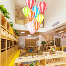 Simple Modern Color Children's Room Maternal and Child Clothing Store Kindergarten Playground Creative Balloon LED Chandelier