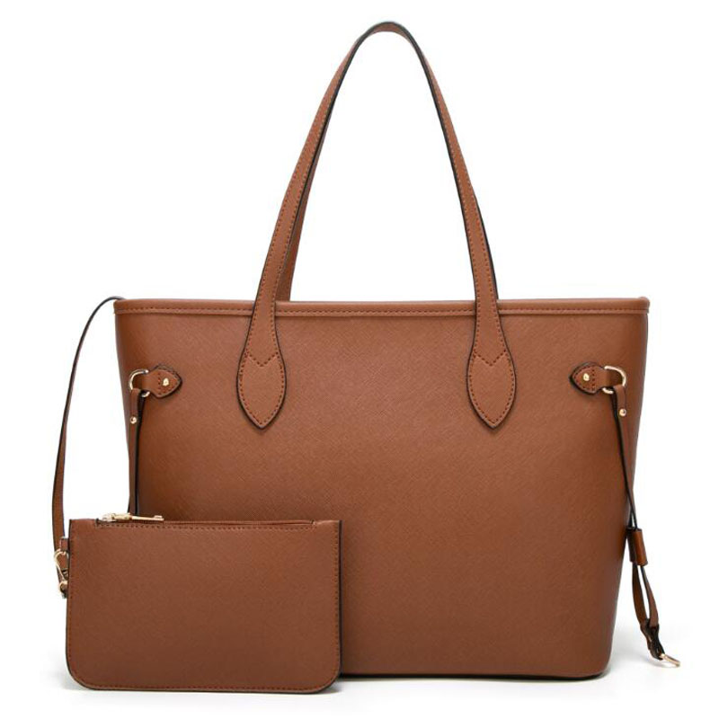 Women's Bags Retro Fashion Shoulder Bags Printing Hand Bags For Women Big Capacity 2 Piece Bags PU Leather Crossbody For Female