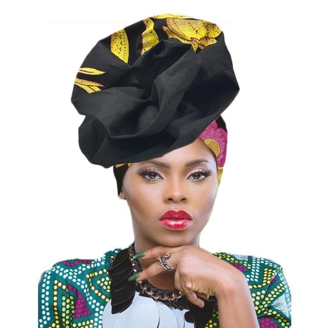 Gele headtie כבר עשה טורבן africain femme אפריקאי ראש כורכת