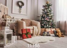 Vinyl Custom Photography Backdrops Prop Christmas day Christmas Tree Theme Photo Studio Background ST-1466 150cm 100cm vinyl custom photography backdrops prop christmas day background hc 10541