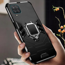 Chống Sốc Coque Dành Cho Samsung Galaxy Samsung Galaxy A12 A02 A02S A32 A42 A52 A72 5G 12 52 02 Ốp Lưng xe Ô Tô Từ Tính Giá Đỡ Bảo Vệ Vòng Bao