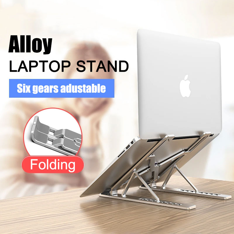 Laptop Stand for MacBook Pro Air 13.3 Notebook Stand Foldable Aluminium Alloy Tablet Stand Bracket Laptop Holder for Notebook