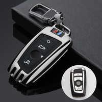 Funda para llave de coche, para BMW 520, 525, f30, f10, F18, 118i, 320i, 1, 3, 5, 7Series, X3, X4, M3, M4, M5, E34, E36, E90