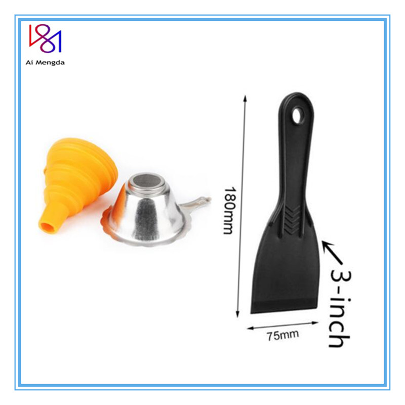 Metal UV Resin Filter Cup+Silicon Funnel+SLA Resin Special Tool Shovel  For ANYCUBIC Photon Dlp Parts 3D Printer Accessories