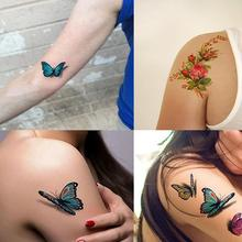 5pcs Halloween 3D Tattoo Stickers Waterproof Fun tattoo
