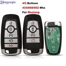 Jingyuqin FSK M3N A2C31243300 902/868/434Mhz ID49 Remote Smart Prox schlüssel Für Ford Fusion Explorer Rand Mustang 2017 2018