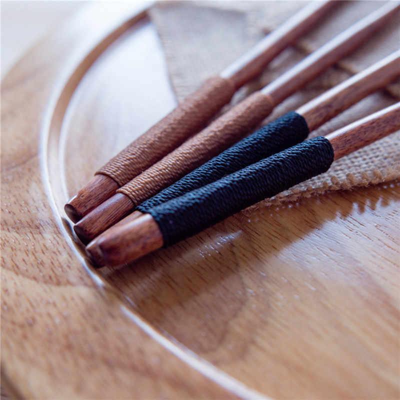 أدوات مائدة خشبية على الطراز الياباني ، صديقة للبيئة ، ملعقة قهوة صحية ، مغرفة ملعقة شوربة حساسة ناعمة ملعقة خشبية