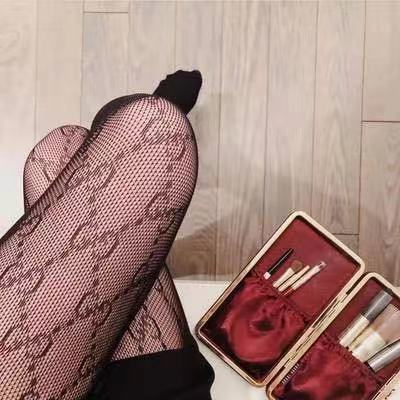 Stockings Hosiery Pantyhose Fishnet Tights Mesh Letter France White Black New Sexy Women's
