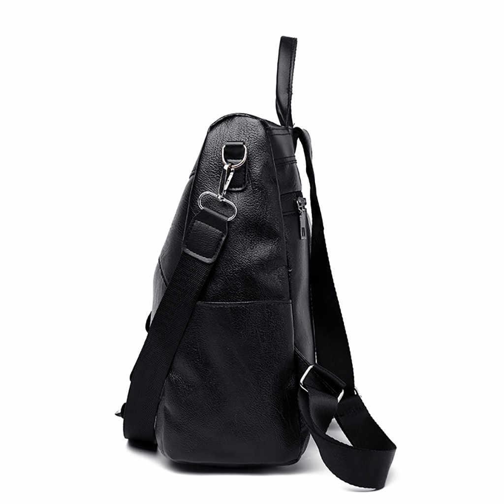 Moda eğlence çantası sırt çantası kadın renk eşleştirme vahşi seyahat çantası okul çantası sırt çantası kadın omuzdan askili çanta