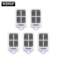Sistema de alarma antirrobo de seguridad para el hogar Panel de teclado táctil GSM PSTN inalámbrico con Control remoto