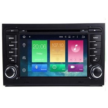android 10.0 Car DVD Radio Multimedia Player Stereo for Audi A4 2002 -- 2008 B5 B6 B7 GPS AutoRadio Navigation System head Unit image
