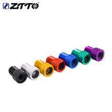 лучшая цена ZTTO Bicycle Valve Adapter for MTB Road Bike Presta to Schrader Inner Tube Tire Convert Repair Bomba Bicicleta Bicycle part