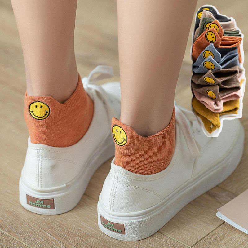 Novelty Cotton Socks Cartoon 3D Cute Embroidered Expression Ankle Funny Socks UK