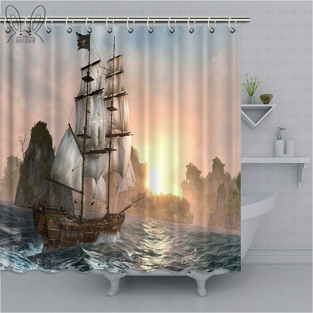 polyester fabric shower curtain liner