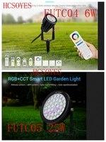 milight FUTC04 6W/FUTC05 25W RGB+CCT Smart LED Garden Lamp Outdoor Light led Lawn Light IP65 Waterproof 24V 110V 220V